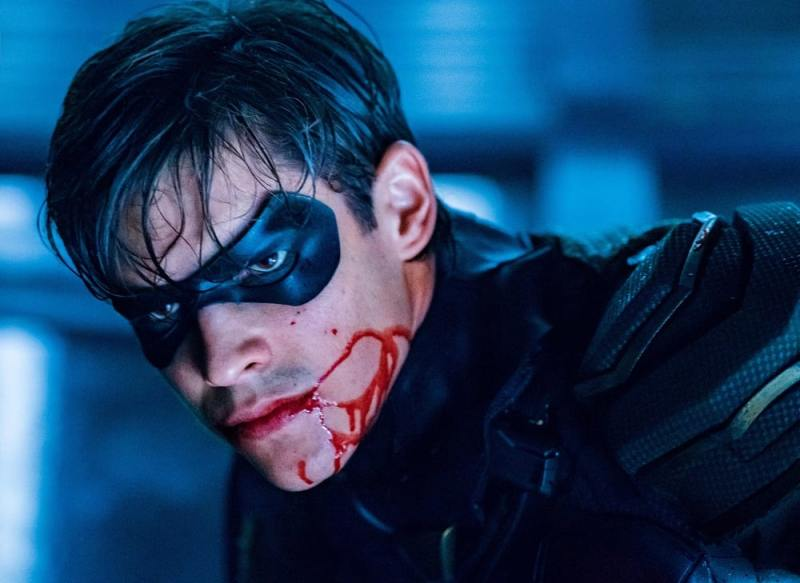 titans asylum review - robin