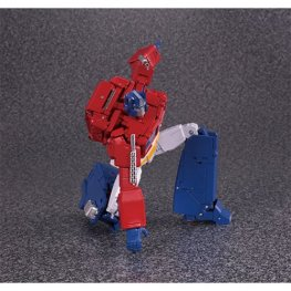transformers masterpiece edition MP-44 Optimus Prime figure -landing