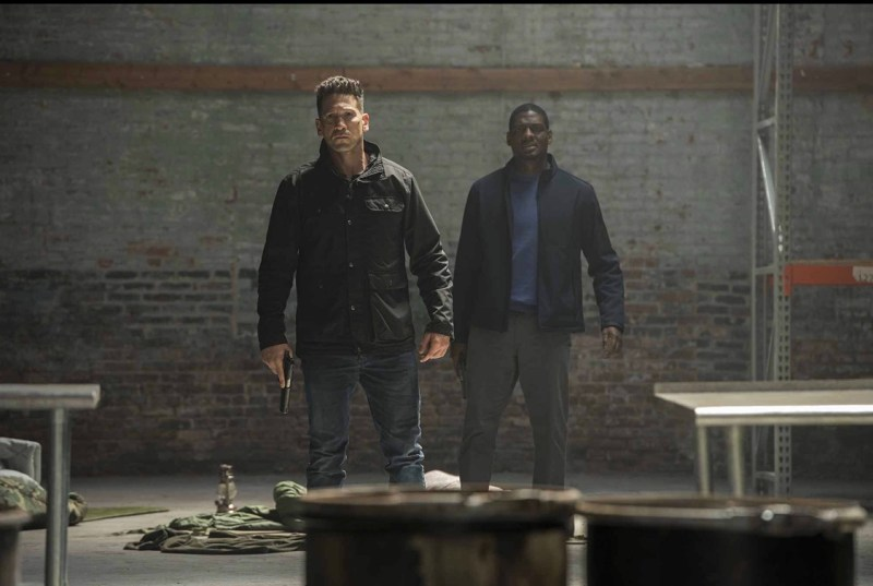 The punisher One Bad Day review - the punisher and Curtis
