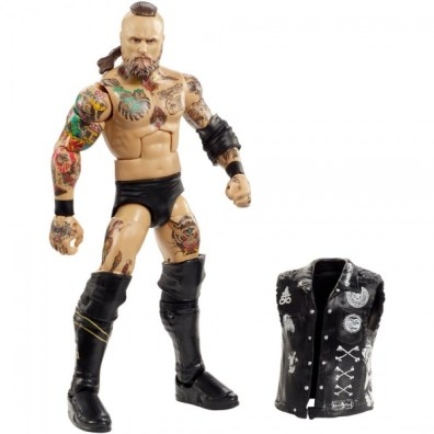wwe elite nxt takeover series 4 aleister black accessories