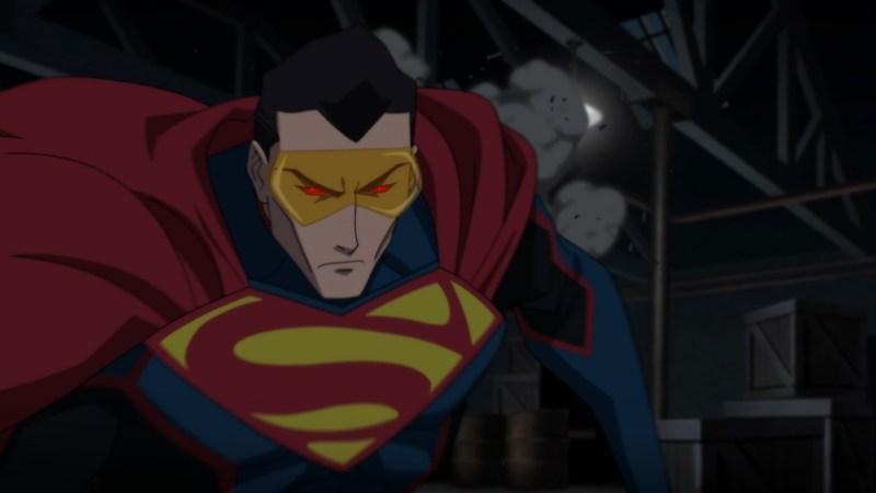 reign of the supermen movie review - eradicator