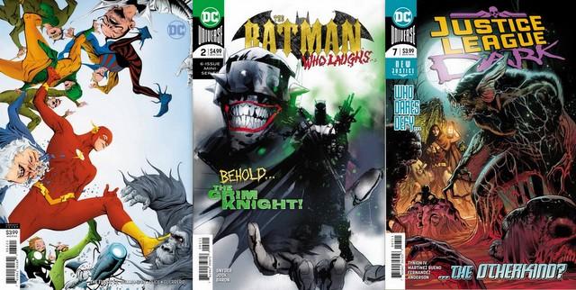 dc comics reviews 1/16/19