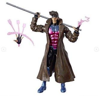 marvel legends x-men build-a-caliban loose - gambit
