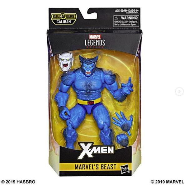marvel legends x-men build-a-caliban packaging beast