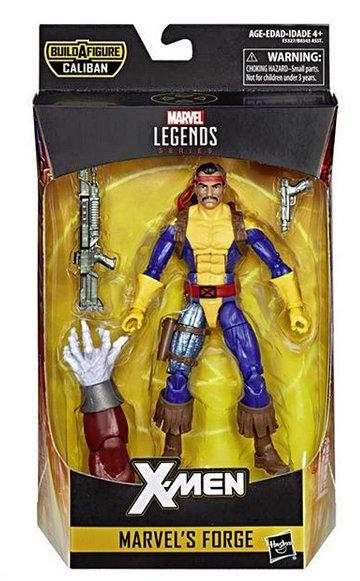 marvel legends x-men build-a-caliban packaging forge