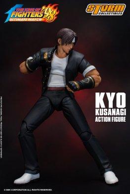 storm collectibles kyo kusanagi figure - battle stance