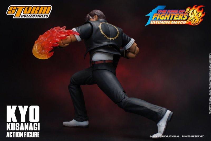 storm collectibles kyo kusanagi figure -flaming fist