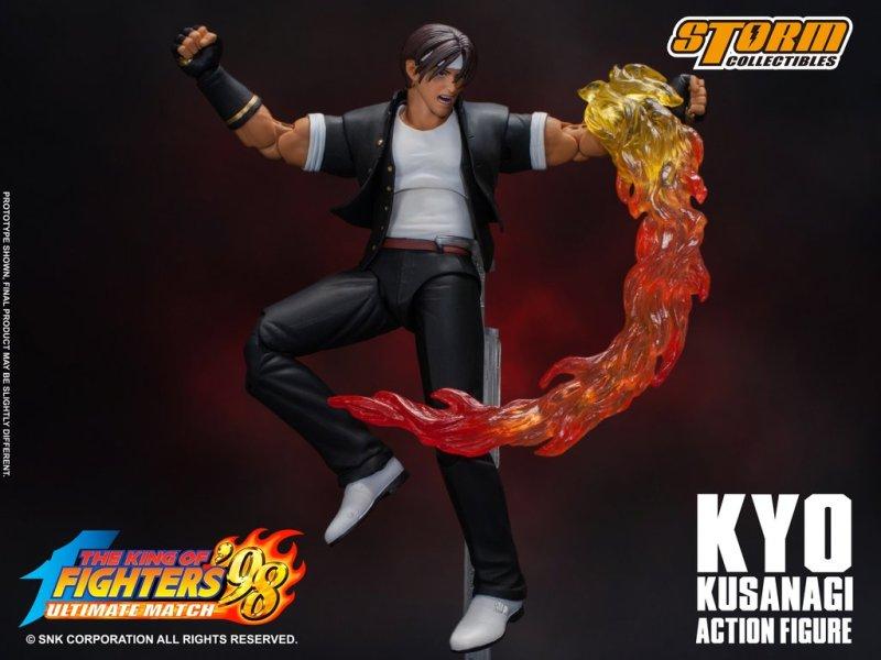 storm collectibles kyo kusanagi figure -jumping arc