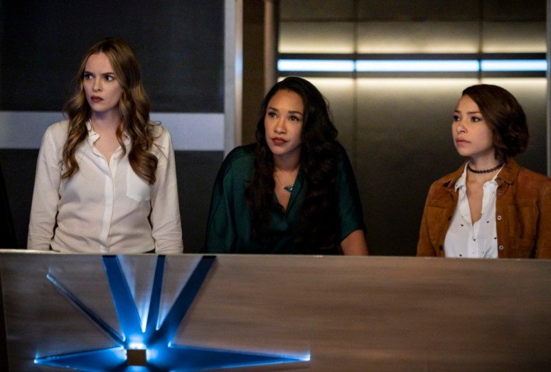 the-flash-the-flash-the-furious-review - caitlin, iris and nora