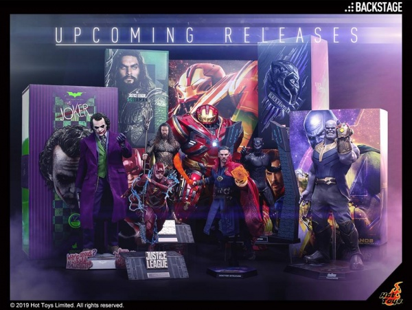 upcoming hot toys figures 2019