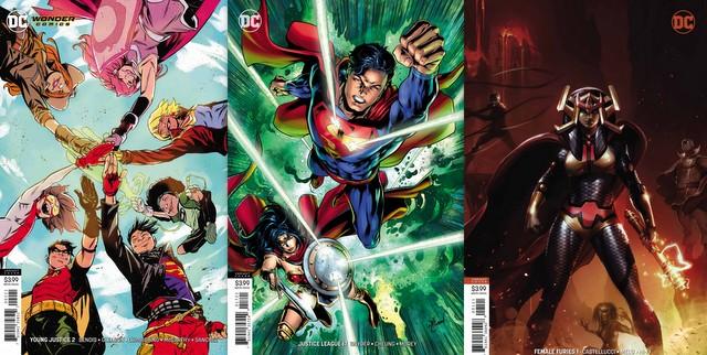 dc comics reviews for 2/6/9