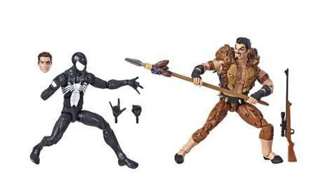 Spider-Man Legends Series 6 Symbiote Spider-Man & Kraven The Hunter Figure 2pk Target Exclusive