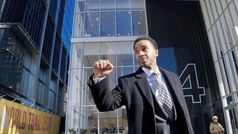 high flying bird movie review - andre holland