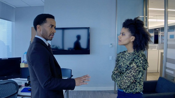 high flying bird movie review - andre holland and zazie beetz