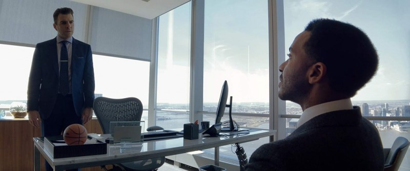 high flying bird movie review - zachary quinto and andre holland
