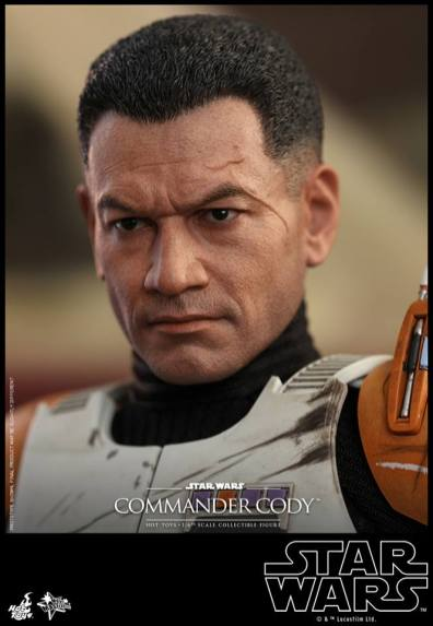 hot toys star wars revenge of the sith commander cody figure -profile shot