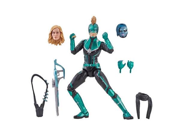 Starforce Exclusive Action Figure Marvel Legends Captain Marvel