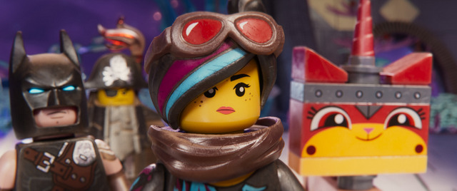 the lego movie 2 the second part movie review - batman, metalbeard, wyldstyle and unikitty