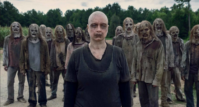 the walking dead omega - alpha and the whisperers
