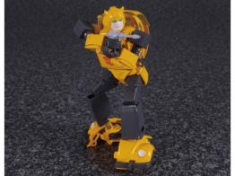 transformers masterpiece bumblebee 2.0 figure -aiming blaster