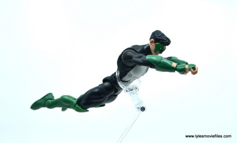 DC Multiverse Kyle Rayner figure review - flying