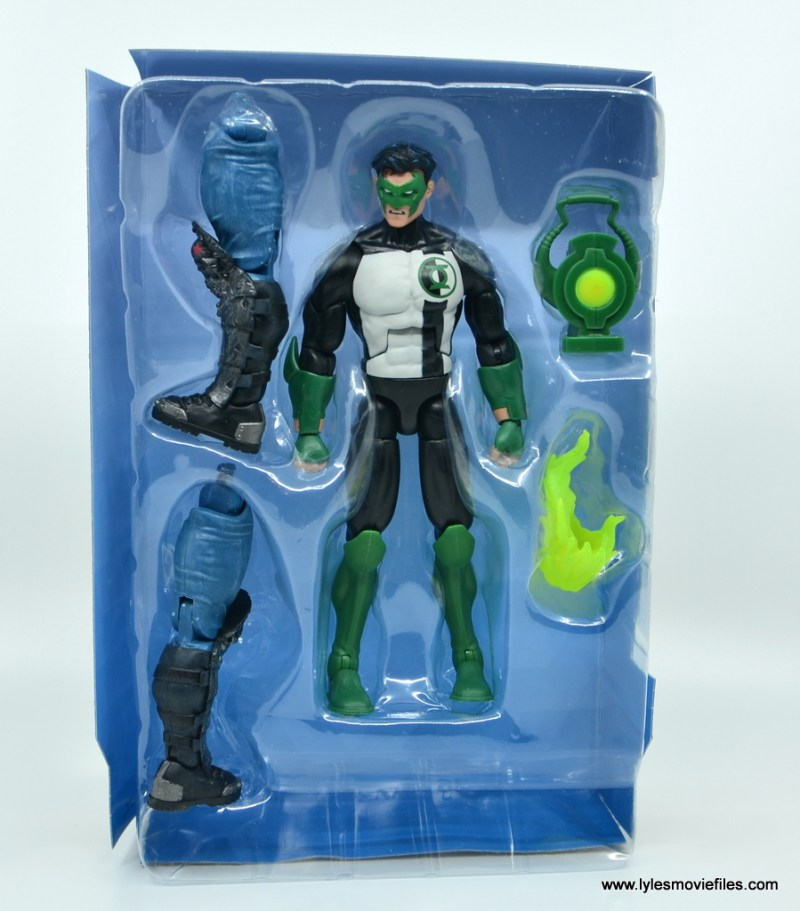 DC Multiverse Kyle Rayner figure review - inner tray