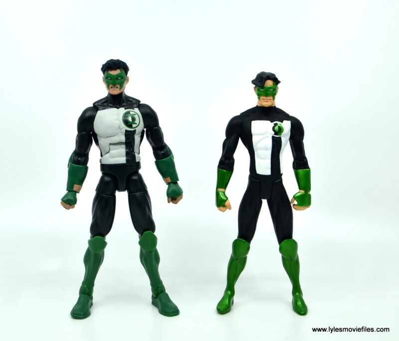 DC Multiverse Kyle Rayner figure review - with DC Direct Kyle Rayner