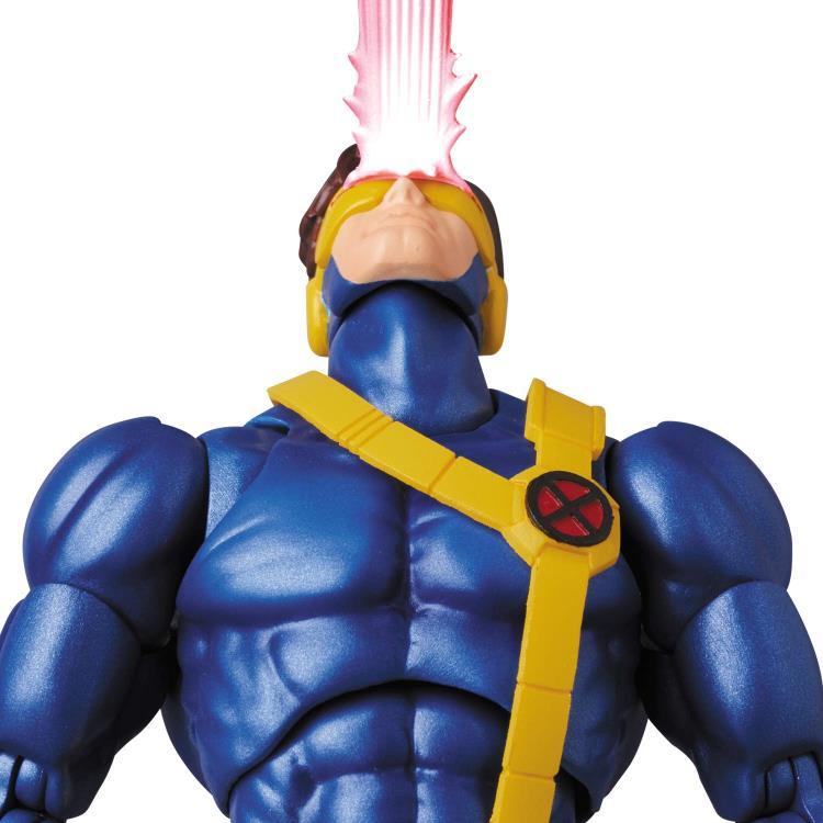 Marvel MAFEX Cyclops figure - blasting up