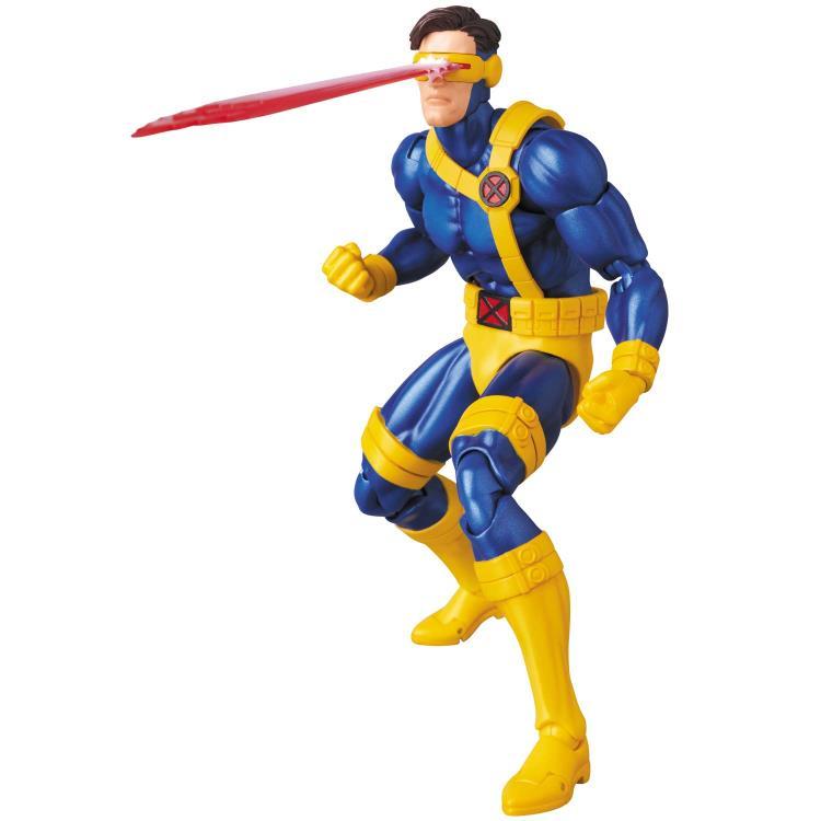 Marvel MAFEX Cyclops figure - firing optic blast
