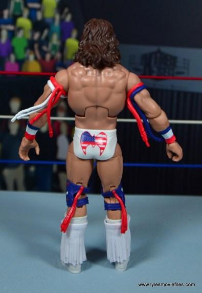 WWE Flashback Ultimate Warrior figure review - rear