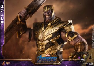 hot toys avengers engame thanos figure -angry
