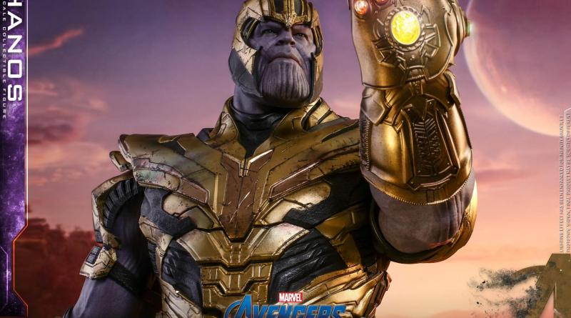 hot toys avengers engame thanos figure -main pic