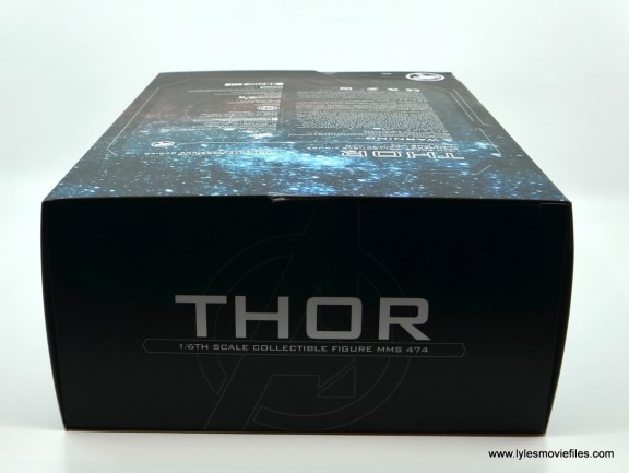 hot toys avengers infinity war thor figure review - package top