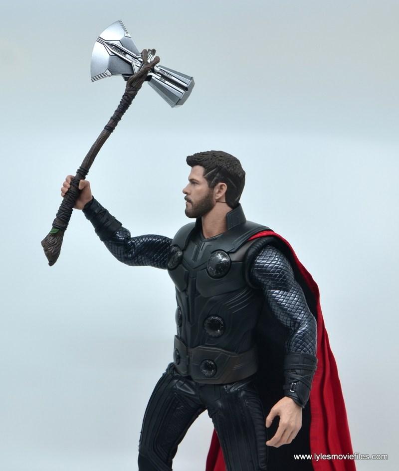 hot toys avengers infinity war thor figure review - raising stormbreaker