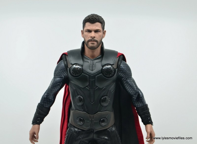 hot toys avengers infinity war thor figure review - wide detail with cape
