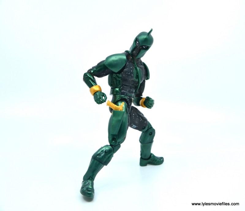 marvel legends genis-vell figure review - reaching for blaster