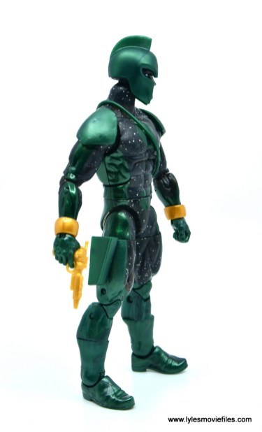 marvel legends genis-vell figure review - right side