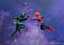 marvel legends genis-vell figure review - vs captain marvel