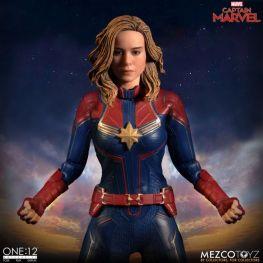 mezco one 12 captain marvel figure - arms out