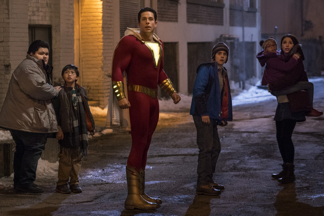 shazam movie review -shazam and the family