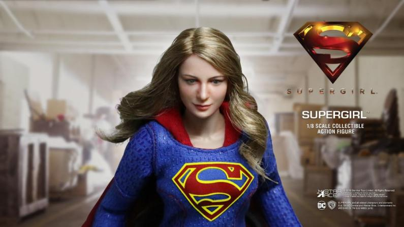 supergirl real master series figures -uniform detail