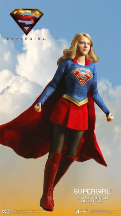 supergirl real master series figures -wide shot