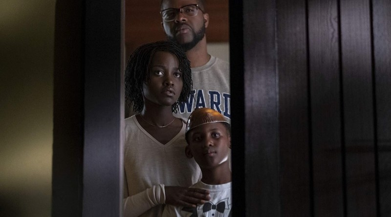 us movie review - lupita nyong'o, winston duke and evan alex