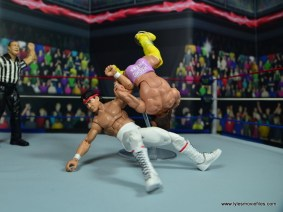 wwe elite flashback ricky steamboat figure review - arm drag