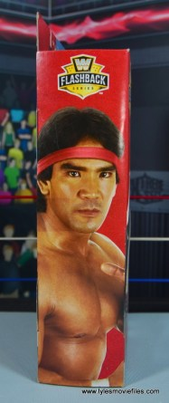 wwe elite flashback ricky steamboat figure review - package side