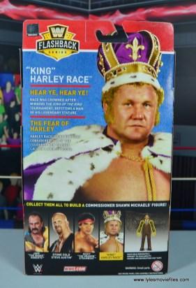 wwe elite king harley race figure review - package rear