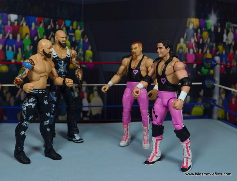 1. Hart Foundation vs Bullet Club