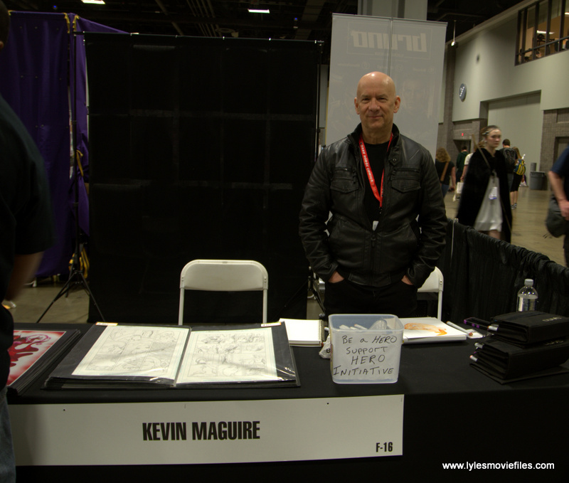 Awesome Con 2019 - Kevin Maguire