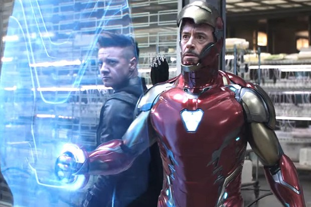 Avengers: Endgame - Hawkeye and Iron Man