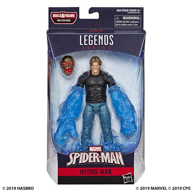 MARVEL SPIDER-MAN LEGENDS SERIES 6-INCH Figure Assortment - Hydro-Man (in pck)